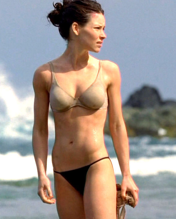 evangeline lilly tits