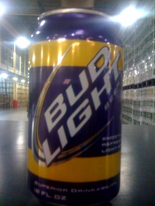 LSU Bud Light Can