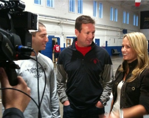 Jenn Brown Bob Stoops