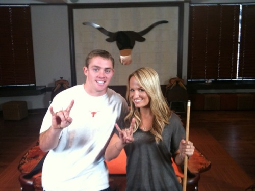 Jenn Brown Colt McCoy