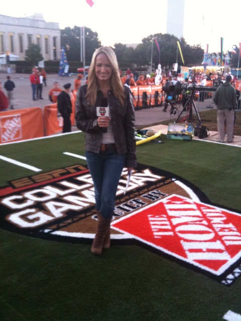 Jenn Brown Gameday
