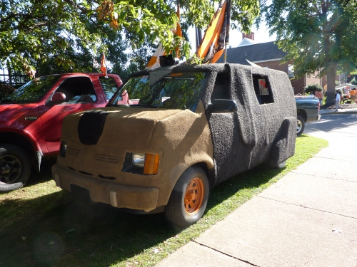 UT Dog Van