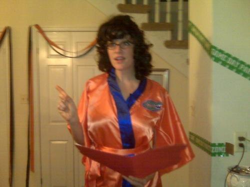 Corrine Brown Costume